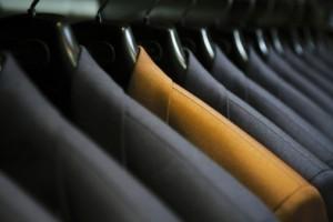 Suits closet