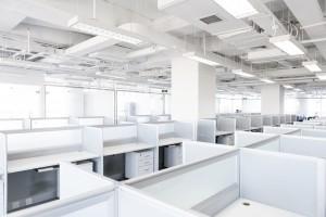 Empty cubicles