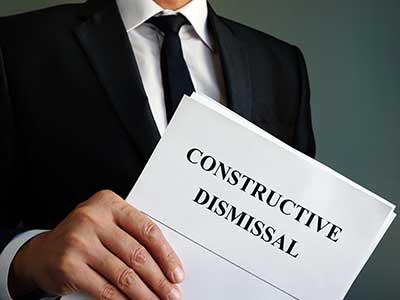 Constructive Dismissal Lawyer
